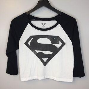 4bc05d3a Women Superman Crop Top on Poshmark